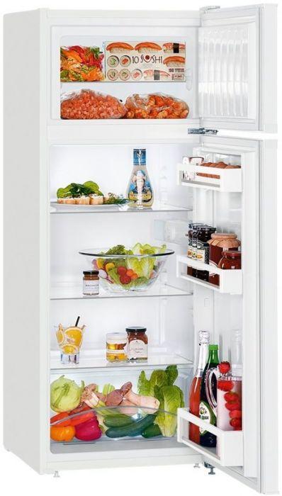 Liebherr køleskab med fryseboks – SmartFrost – 140,1 cm