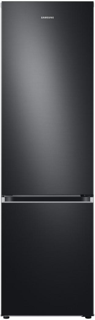Samsung køle-/fryseskab, Premium Black Steel – 203 cm