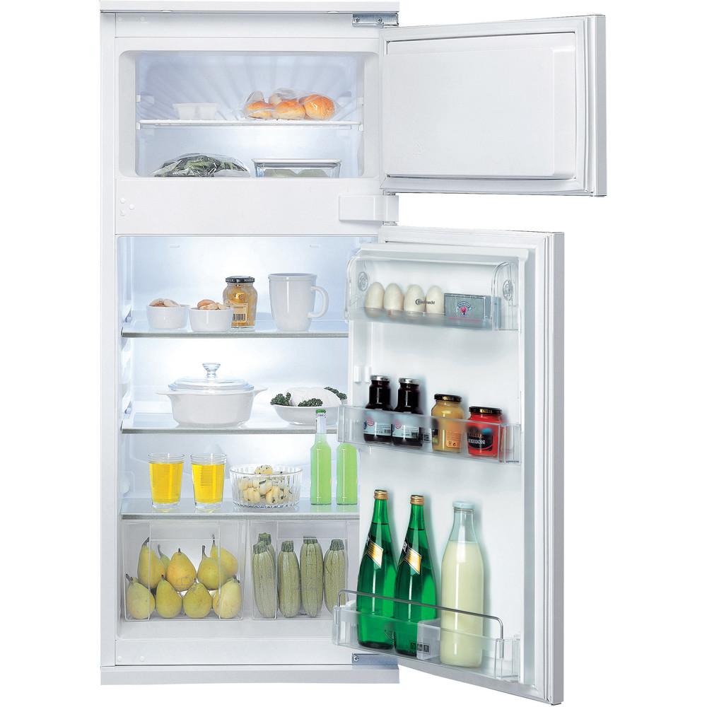 Bauknecht fuldintegreret køleskab med fryseboks – 122 cm