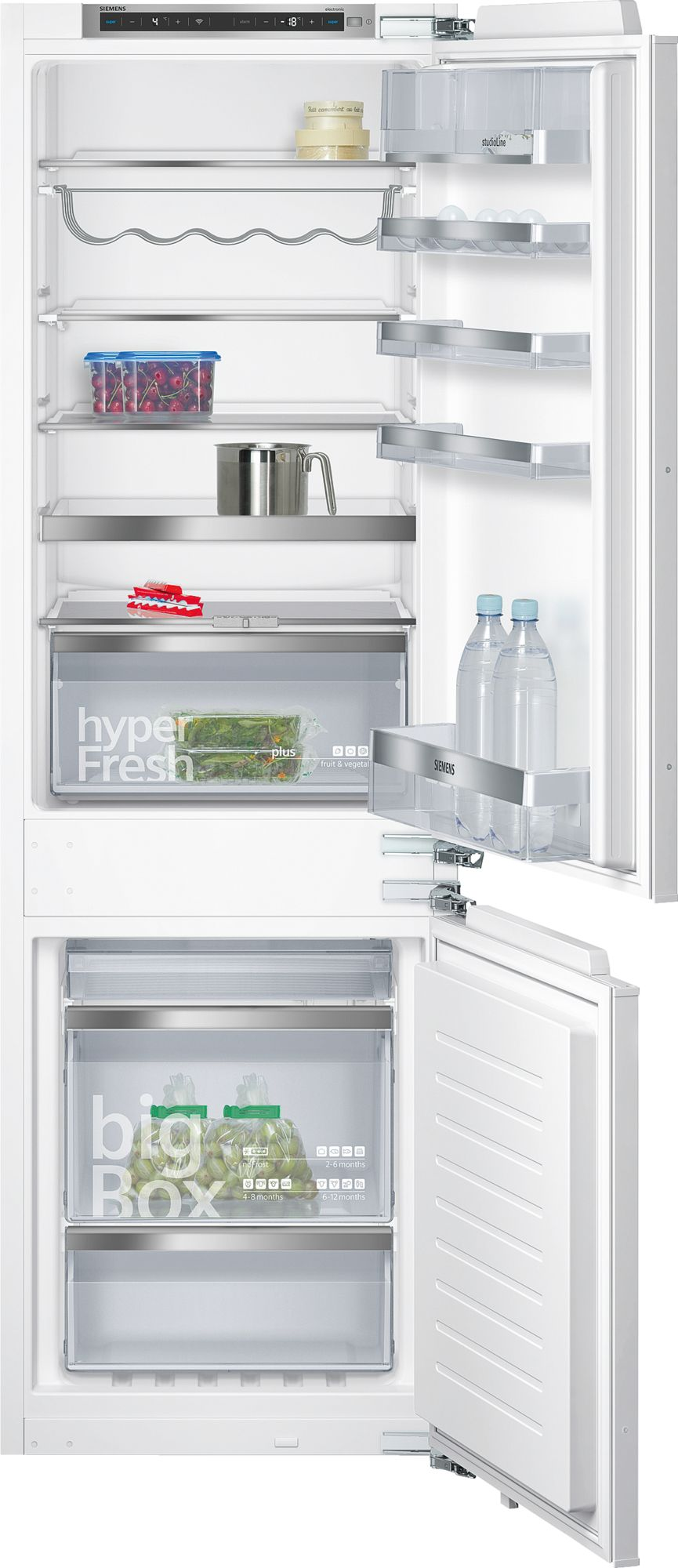Siemens studioLine KI86NHD30 – Køle-/Fryseskab – noFrost – freshSense – 177,5 cm