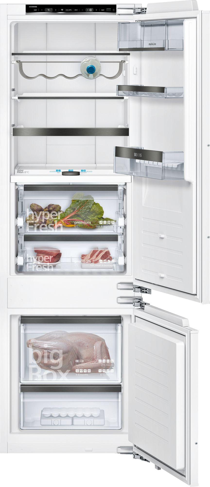 Siemens studioLine KI87FHD40 – Køle-/Fryseskab – HomeConnect – freshSense – 177,5 cm