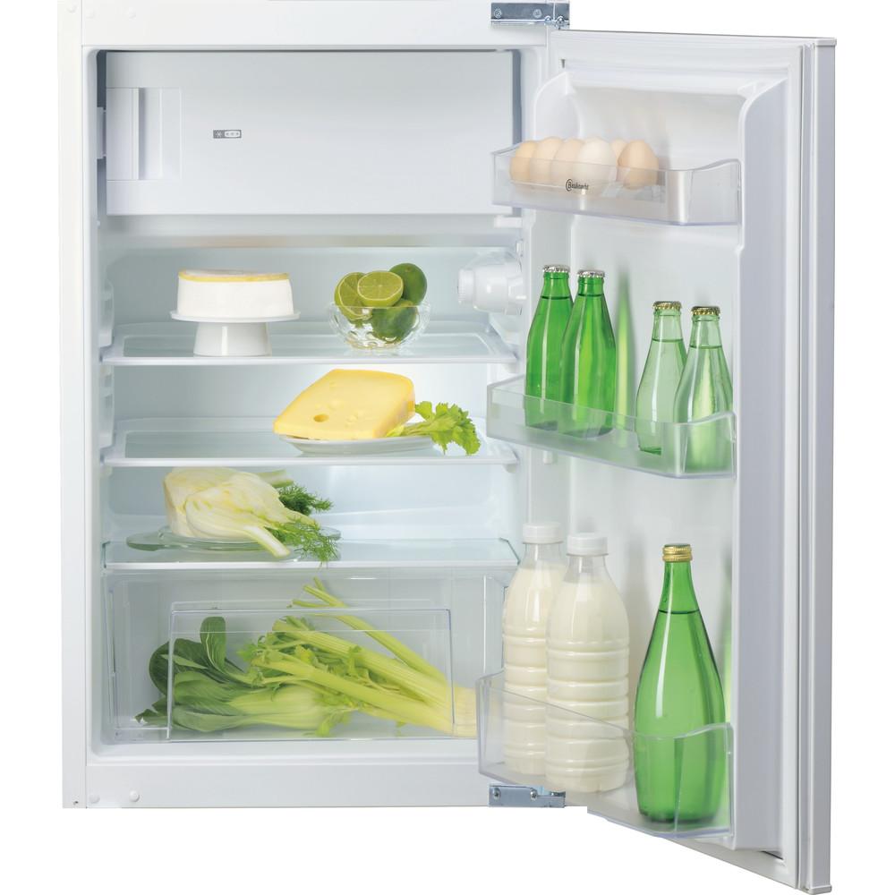Bauknecht fuldindtegreret køleskab med fryseboks – 88 cm