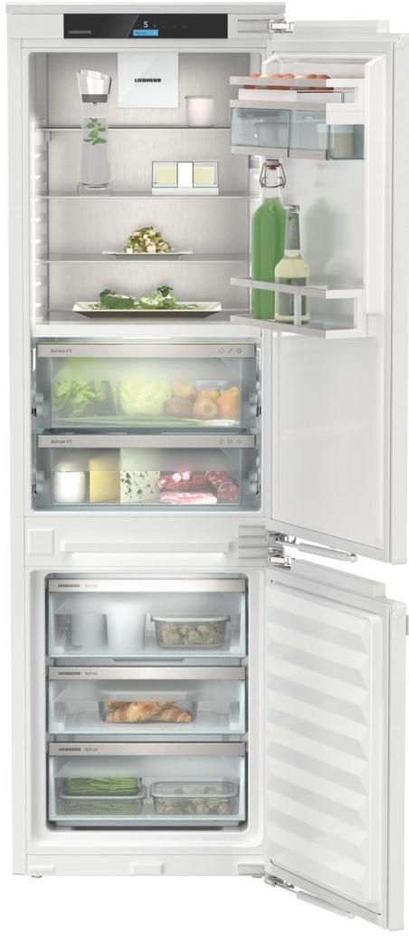 Liebherr Prime Fuldintegreret køle-/fryseskab – NoFrost + BioFresh – 177,2