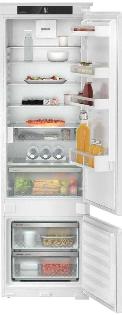 Liebherr Plus Fuldintegreret køle-/fryseskab – EasyFresh + SmartFrost – 177,2 cm