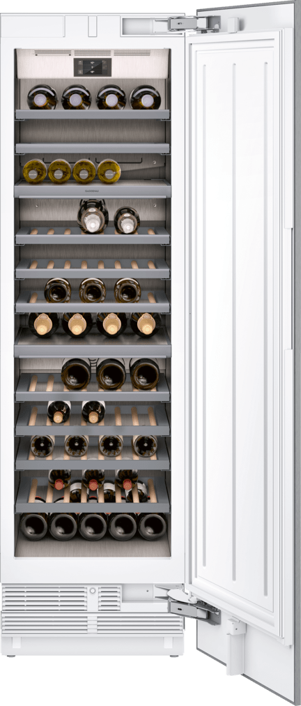 Gaggenau serie 400 fuldintegreret vinkøleskab - 99 Bordeaux Flasker - HomeConnect - 212cm