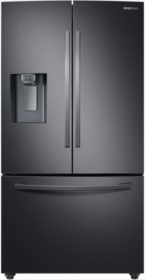 Samsung Side-by-Side Køle–fryseskab – French Door – Premium Black Steel – 178 cm – 630 l.