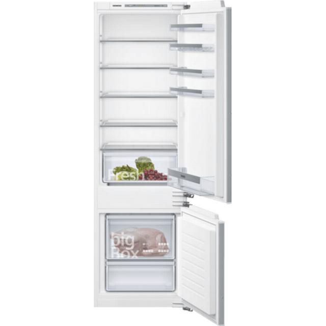 Siemens iQ300 fuldintegreret køle-/fryseskab – Fladhængsler -177,2 cm