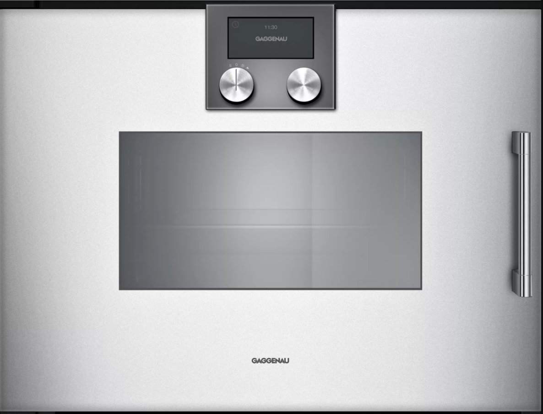 Gaggenau Serie 200 dampovn til indbygning - Sølv - 60 cm