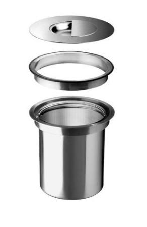 BLANCO Solon - affaldsspand til bordplade - Planlim. / Ilægning - 30cm