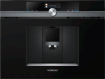 Siemens CT836LEB6 studioLine - Indbygningskaffemaskine - HomeConnect