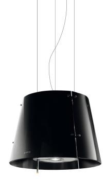 Elica Grace sort - 515 (670) m³/t - 51 cm
