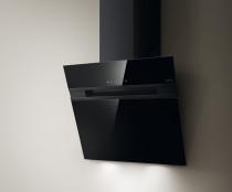 Elica Stripe sort glas vægemhætte 735 m³/t (900) - 60 cm