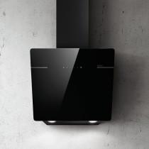 Elica L'Essenza sort glas vægemhætte 690 m³/t (860) - 60 cm