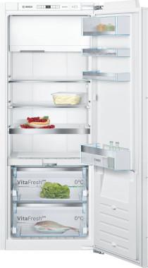 Bosch Fuldintegreret Køleskab med Frostboks - VitaFresh - 140cm