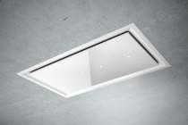 By Jacobsen Nordkap Loftemfang - hvidt glas & mat lak - 50 x 86 cm - til ekstern motor