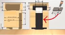 Elica Filterkit til recirkulation - passer til Nikola Tesla Fit - ud til soklen
