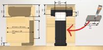 Elica Filterkit til recirkulation - passer til Nikola Tesla Fit - Udblæsning via soklen