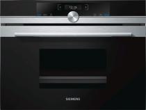 Siemens CM633GBS1 kompaktovn med mikro - softClose - sort | 45 cm