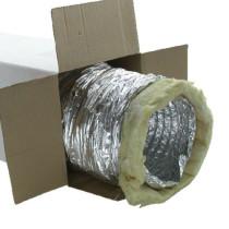 Airflow - Iso Flexslange - Lyd- og kondensisoleret - Ø150 - 5 meter
