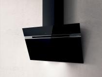 Elica Stripe sort glas vægemhætte 735 m³/t (900) - 90 CM